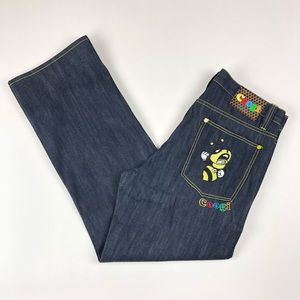COOGI Relaxed Fit Hornet Hip Hop Jeans Retro 38x34